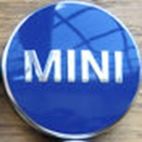 Genuine MINI Centre Cap Set Blue Small