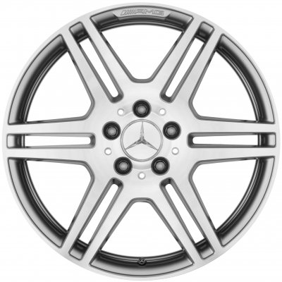 AMG Wheel B66031468 - A21240123027X25 and B66031469 - A21240124027X25