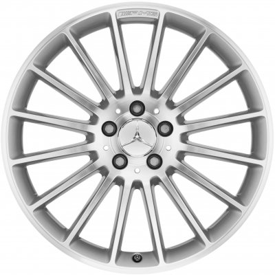 AMG Wheel B66031117 - A2214012202 and B66031118 - A2214012302