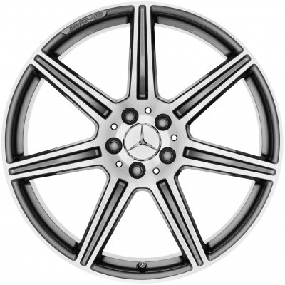 AMG Wheel A19740100027X21 - B66030100 and A19740101027X21 - B66030101