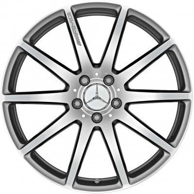 AMG Wheel A22240102007X21 and A22240103007X21 - A2224010300647X21