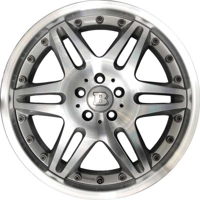 Brabus Wheel 62285835RDK and 62295835RDK